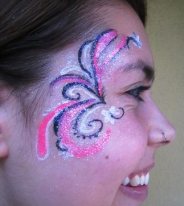 Hire a face painter for children kids party entertainer menlo related articles sciox Images