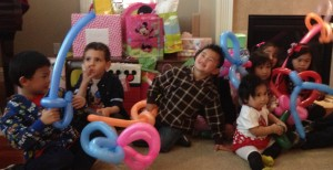 Balloon Twisting for Children Parties Kids Party Entertainer