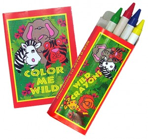 children party favors, coloring book