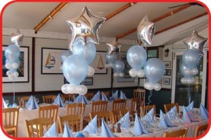 balloons on the table