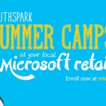 Free Microsoft YouthSpark summer camp in Palo Alto, California and other Microsoft retail stores